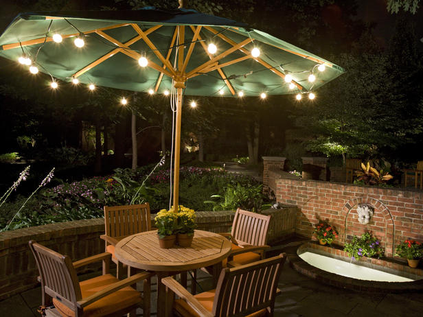 backyard lights photo - 1