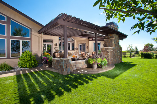 Backyard Patio Plans   Large And Beautiful Photos. Photo To Select Backyard  Patio Plans | Design Your Home