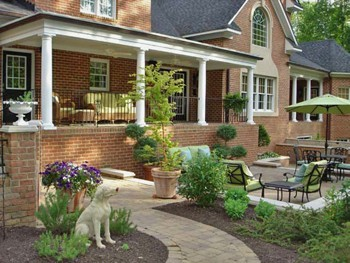 backyard paver patio designs photo - 1