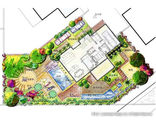 backyard plan photo - 1