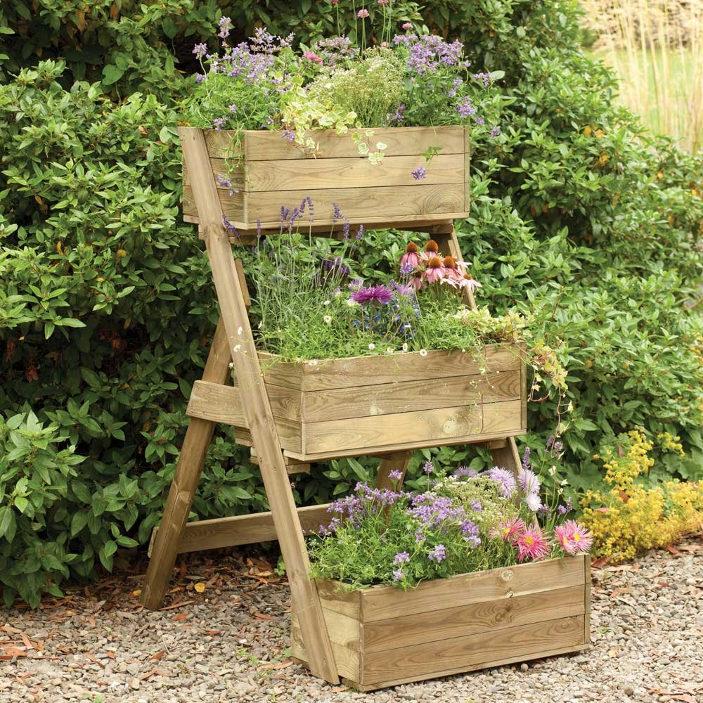 backyard planter designs photo - 2