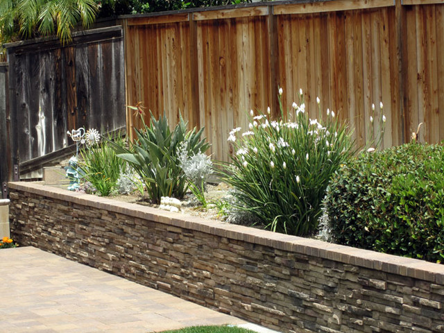 backyard planters photo - 1