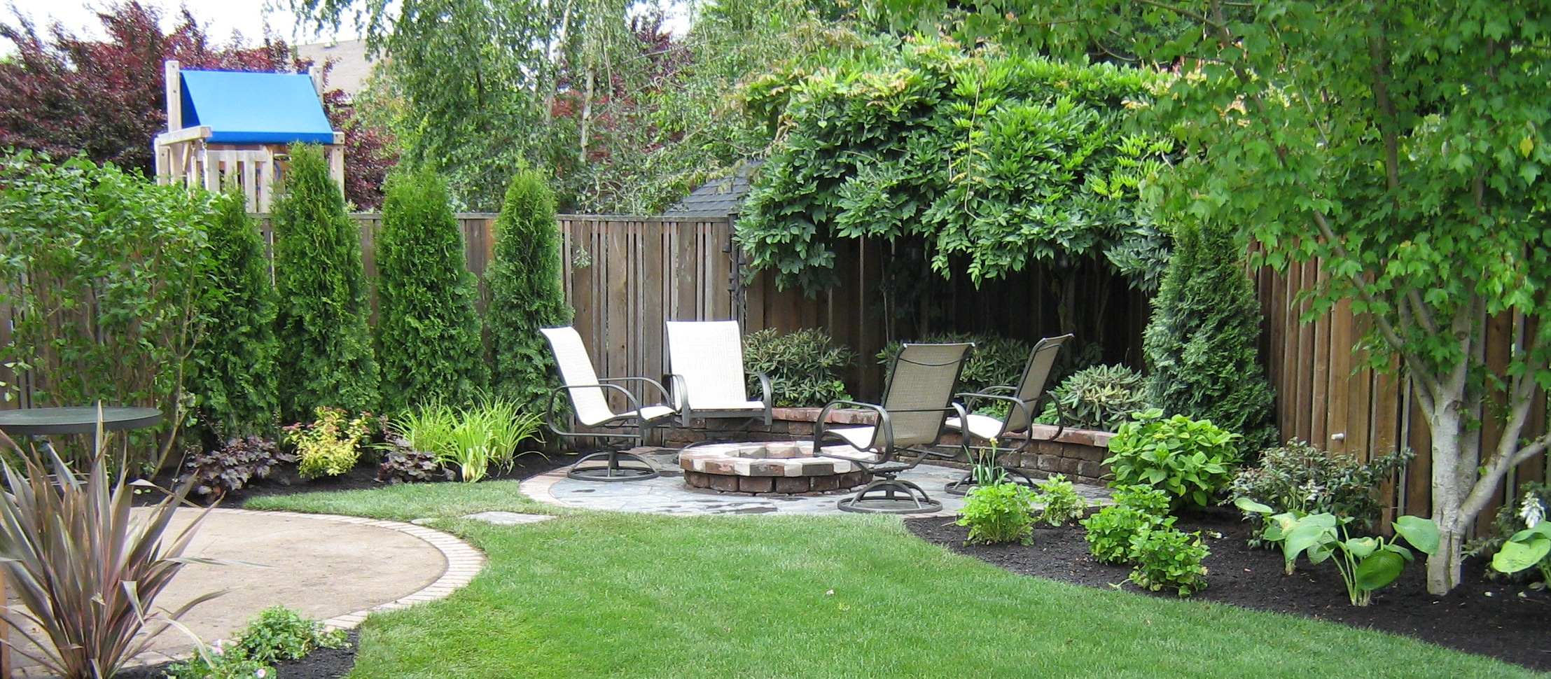 backyard pool landscaping ideas photo - 1