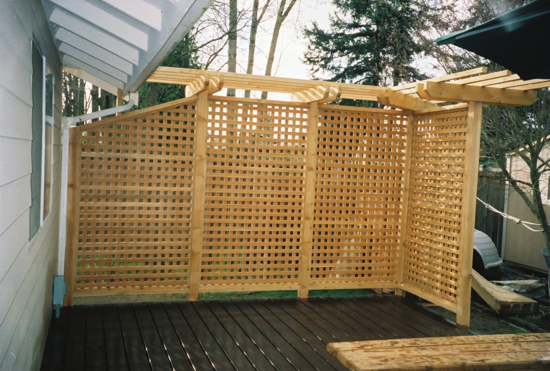 backyard privacy photo - 1