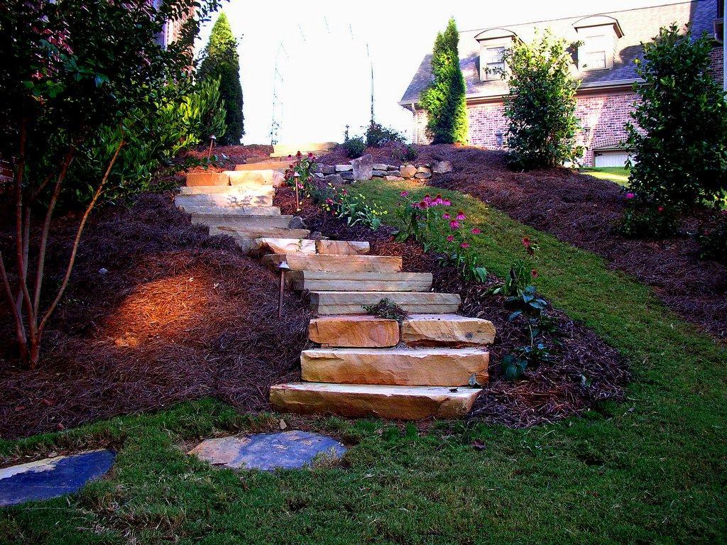 backyard stairs photo - 1