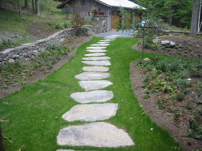 Genial Backyard Stepping Stones