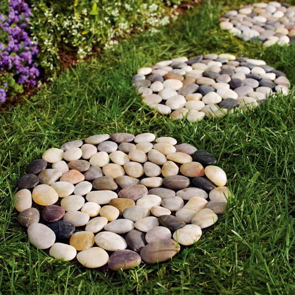 Идеи для дачи из камней фото