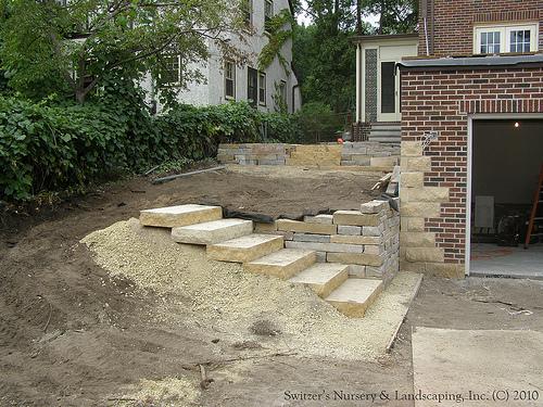 backyard steps photo - 2