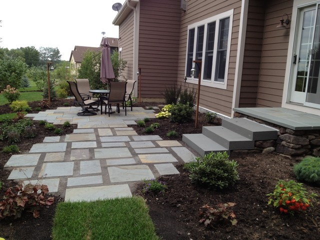 Backyard Stone Patio   Large And Beautiful Photos. Photo To Select Backyard Stone  Patio | Design Your Home