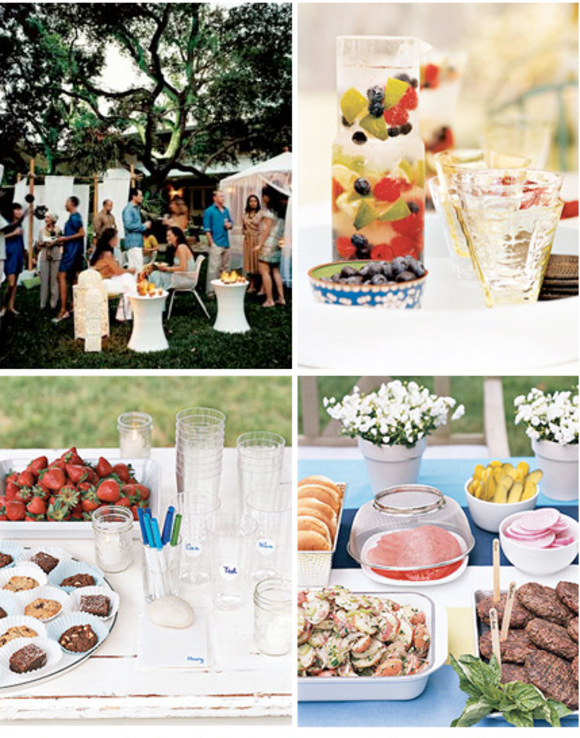 Backyard Summer Party Ideas