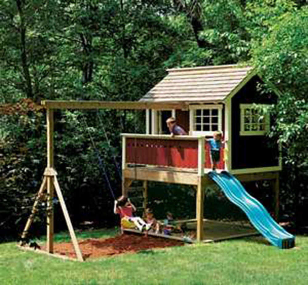 Backyard Swing Set Plans