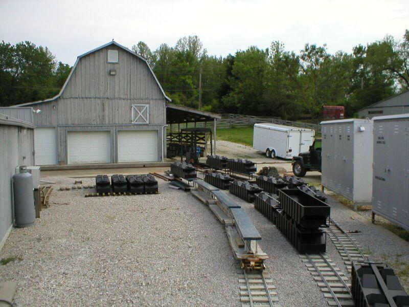 backyard trains photo - 1
