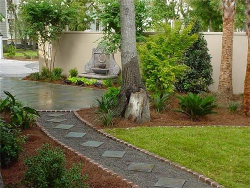 backyard walkway ideas photo - 1