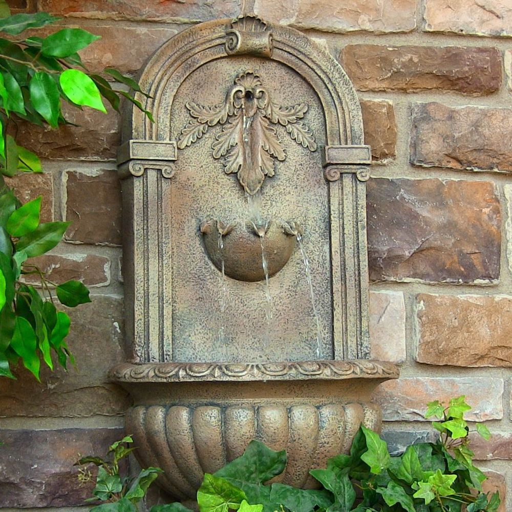 backyard wall fountains photo - 2