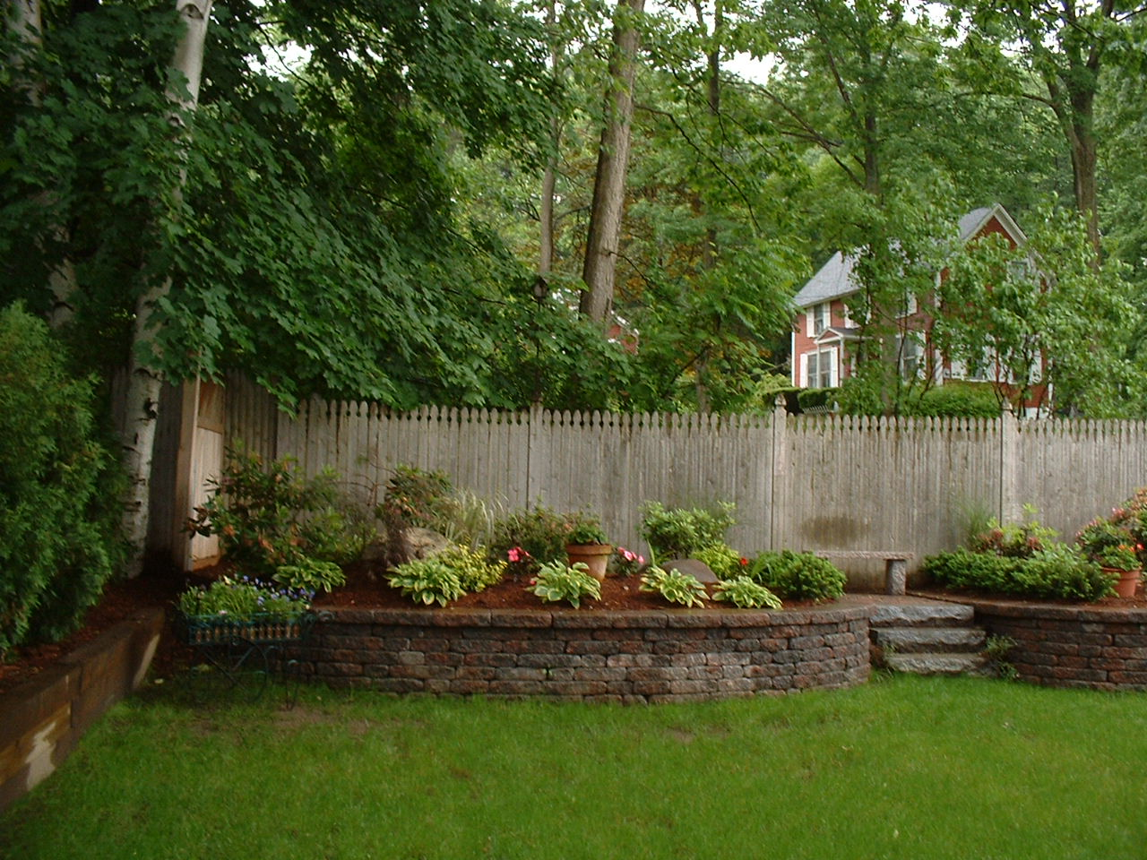 backyard wall ideas large and beautiful photos photo to select