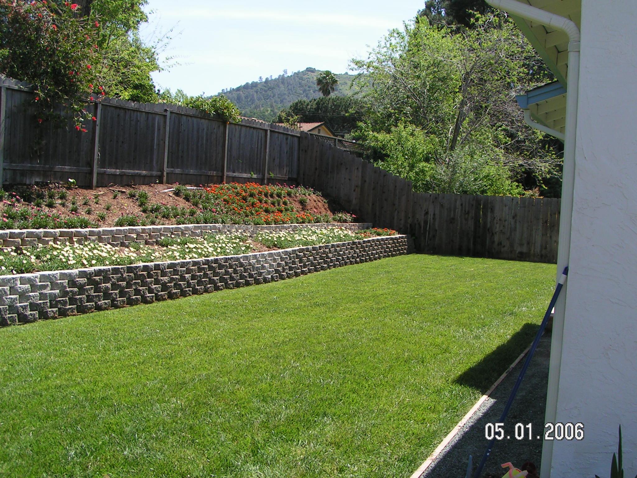 backyard walls photo - 1