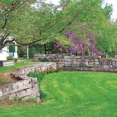 backyard walls photo - 2