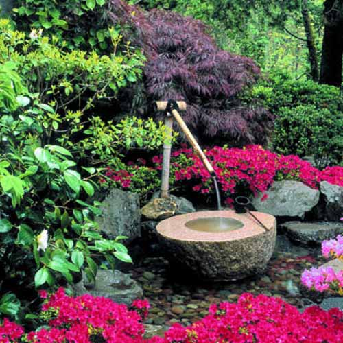 backyard water fountain ideas photo - 1