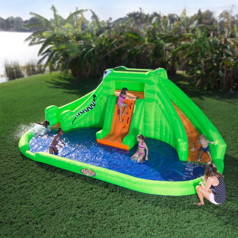 backyard water park photo - 1