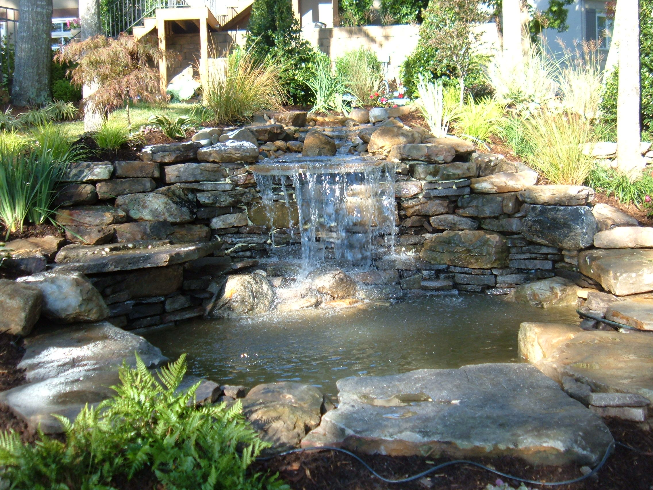 Backyard Waterfalls Pictures Large And Beautiful Photos
