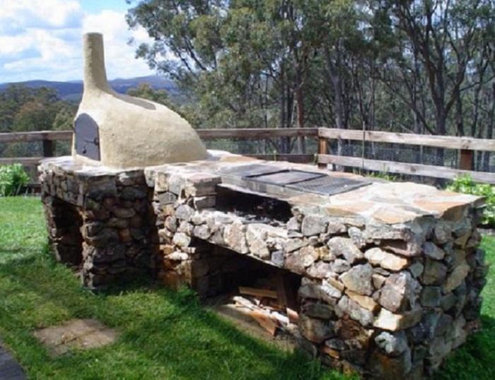 Backyard Wood Fired Oven