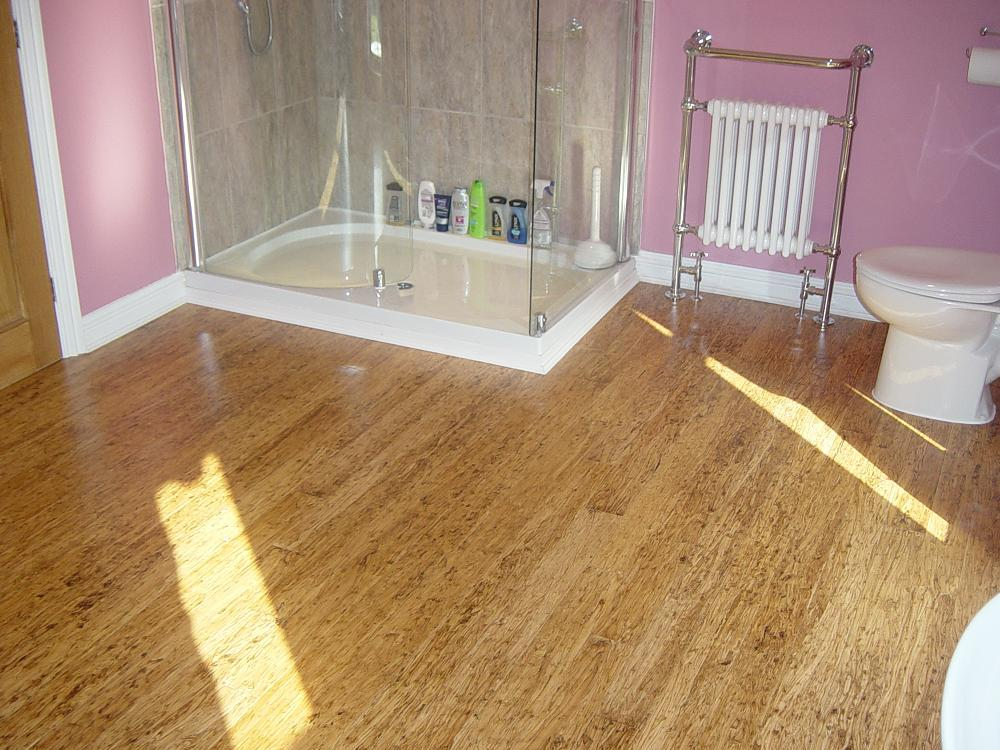 Bamboo flooring in bathroom - large and beautiful photos. Photo to ...