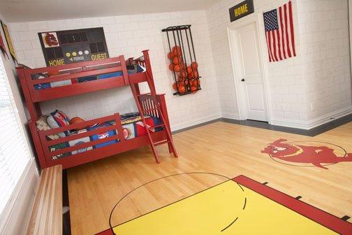 Attractive Basketball Bedroom Ideas