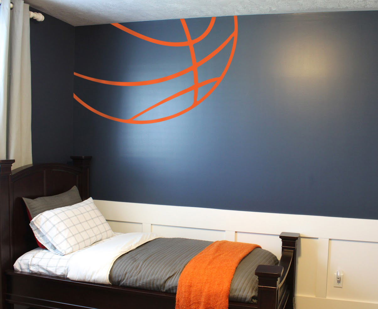 Perfect Basketball Themed Bedroom
