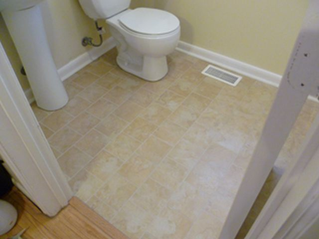 Superb Flooring For Small Bathroom Part - 10: Bathroom Floor Ideas ...