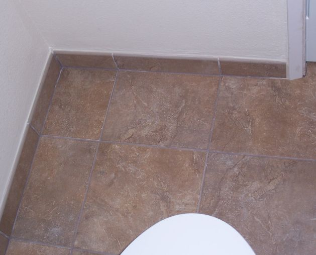 bathroom floor tile photo - 1