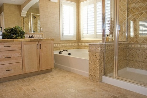 bathroom flooring choices photo - 1