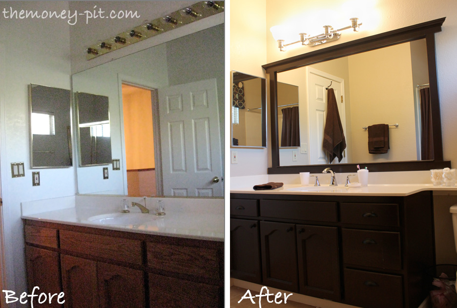 Beautiful Bathroom Mirror Frames