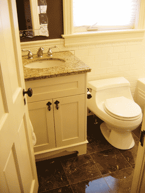 Bathroom remodeling ideas on a budget large and for Remodeling bathroom on a budget ideas