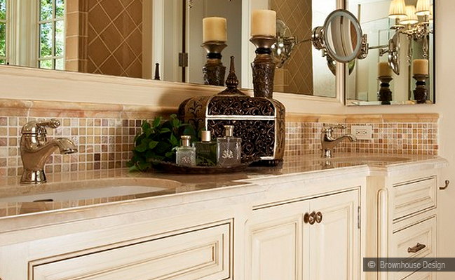 Bathroom tile backsplash ideas - large and beautiful photos. Photo ...