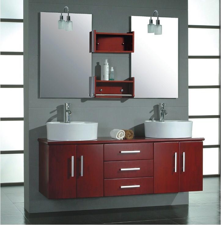 bathroom vanity mirrors ideas photo - 1