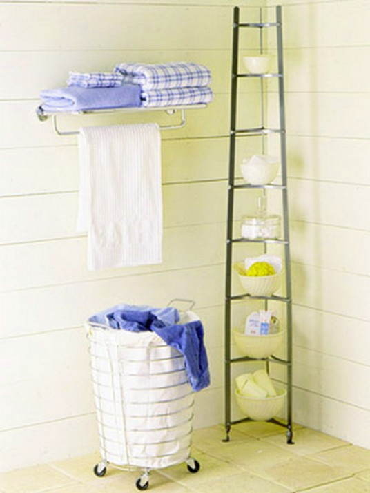 bathroom wall shelf ideas photo - 1