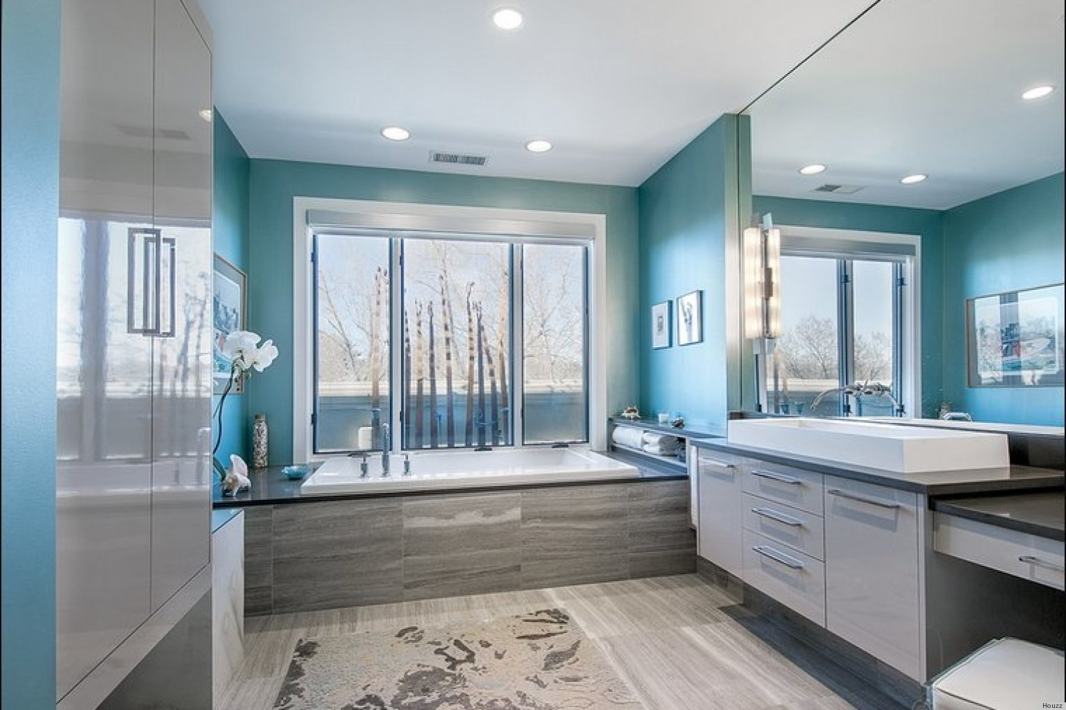 bathrooms colors painting ideas photo - 1