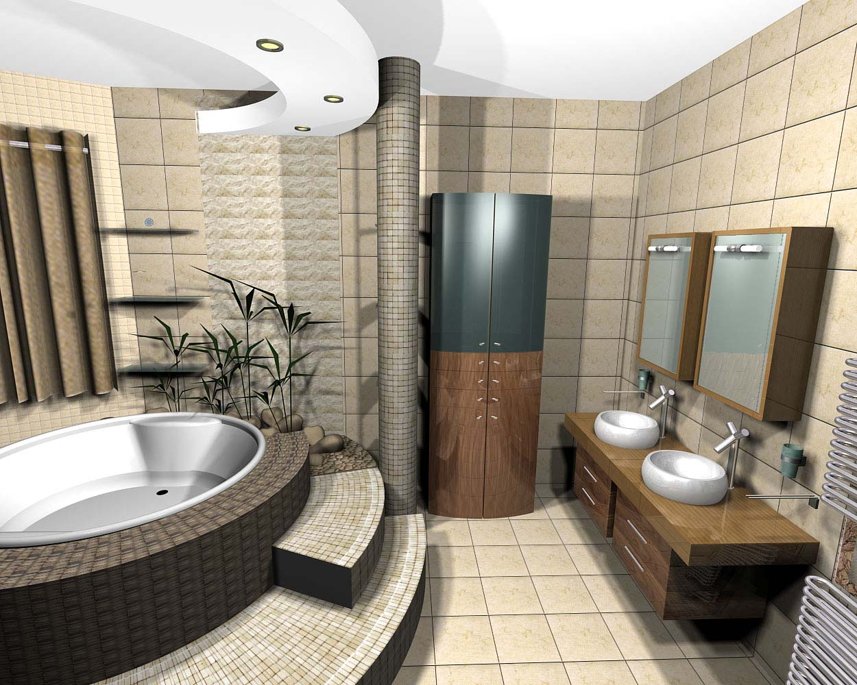 bathrooms ideas photo - 1