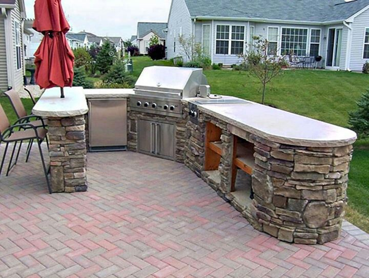 Bbq Backyard Design