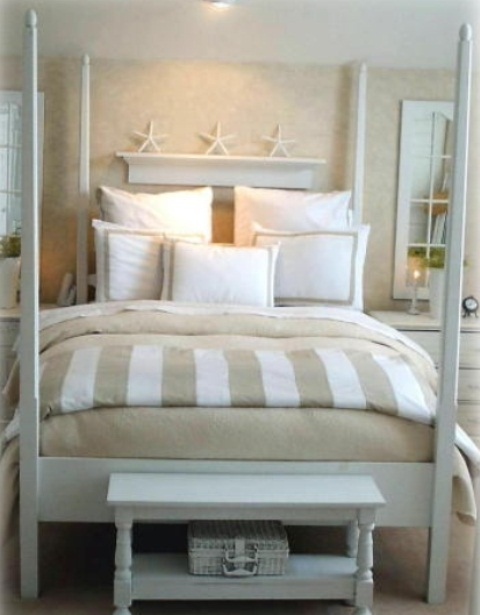 Beach bedrooms ideas - large and beautiful photos. Photo to select ...
