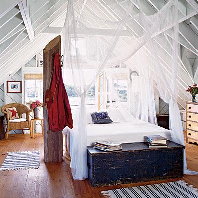 beach cottage bedroom photo - 1