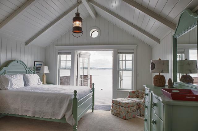 Elegant Beach Cottage Bedrooms