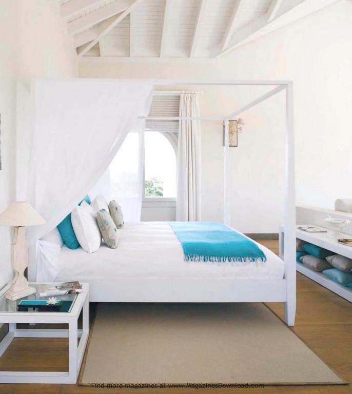 beach house bedroom photo - 1
