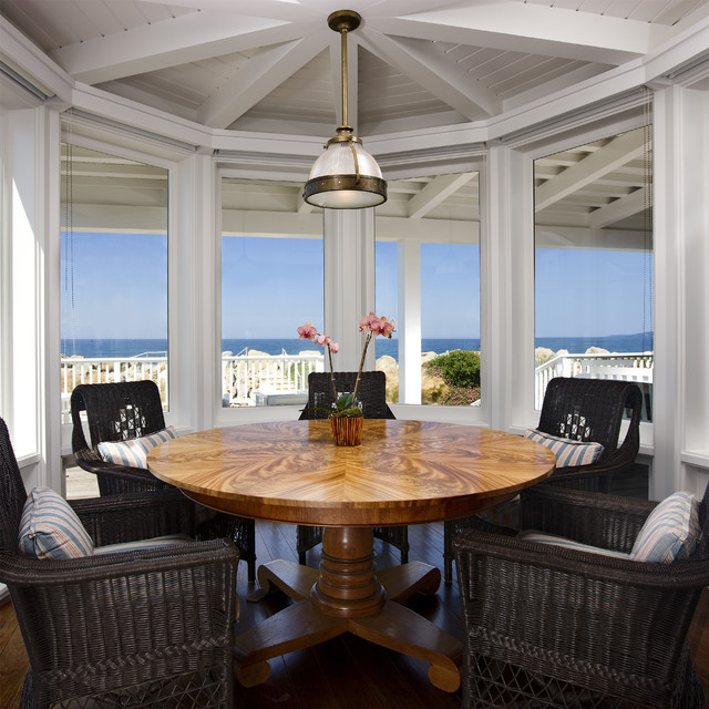 beach house dining room photo - 2