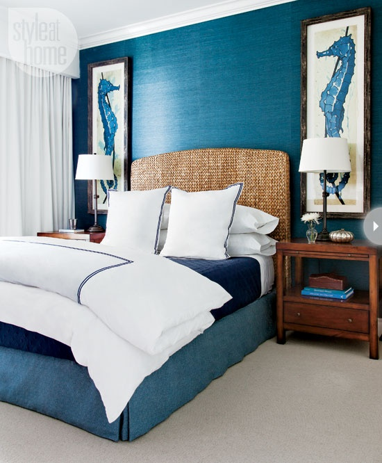 Beach Inspired Bedrooms