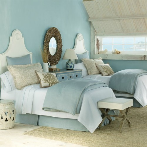 beach style bedroom ideas photo - 1