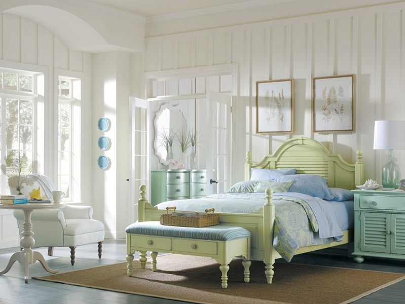 Beach style bedroom sets - large and beautiful photos. Photo ...
