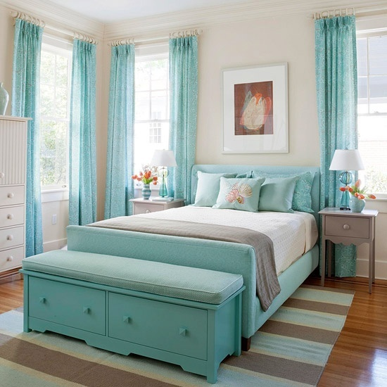 Beach theme bedrooms - large and beautiful photos. Photo to select ...