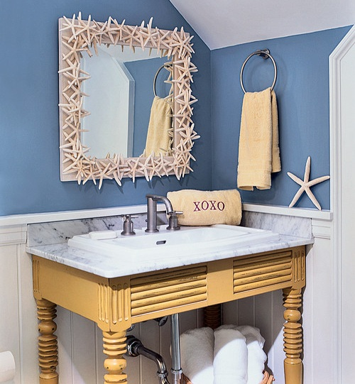 beach themed bathroom ideas  pcd homes, Home design