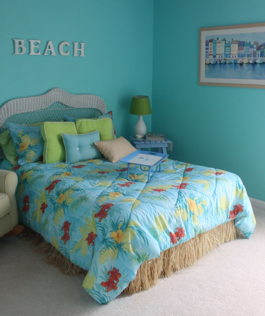 beach themed bedroom furniture photo - 1